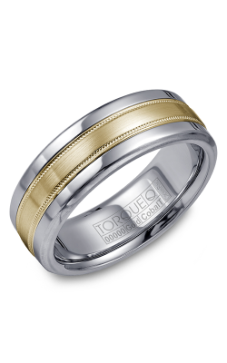 Torque Cobalt And Precious Metals Wedding Band CW020MY75 product image