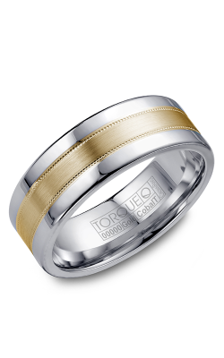 Torque Cobalt And Precious Metals Wedding Band CW021MY75 product image