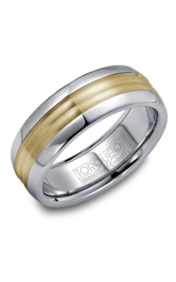 Torque Cobalt and Gold Wedding band CW024MY75 product image
