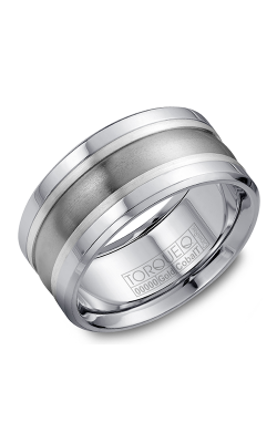 Torque Cobalt and Gold Wedding band CW026ST105 product image