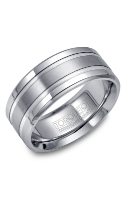 Torque Cobalt and Gold Wedding band CW028MW9 product image