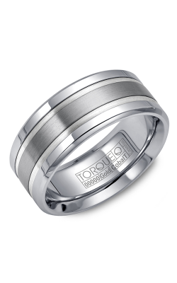 Torque Cobalt and Precious Metals Wedding band CW028ST9 product image