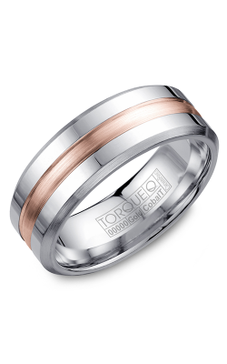 Torque Cobalt and Gold Wedding band CW030MR75 product image