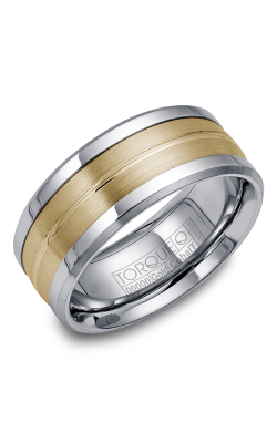 Torque Cobalt and Precious Metals Wedding band CW031MY9 product image
