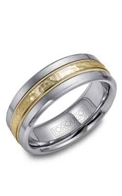 Torque Cobalt and Precious Metals Wedding band CW040MY75 product image