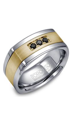 Torque Cobalt and Precious Metals Wedding band CW053MY9 product image