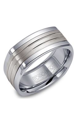 Torque Cobalt and Precious Metals Wedding band CW061SI9 product image