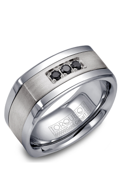 Torque Cobalt and Precious Metals Wedding band CW063SI9 product image