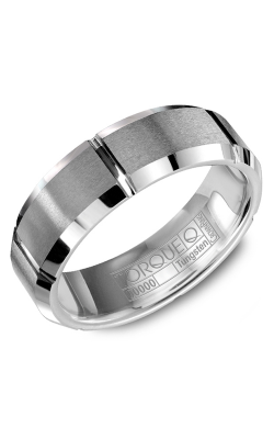 Torque Tungsten Wedding band TU-0001 product image