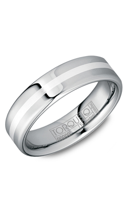 Torque Tungsten Wedding band TU-0119-SI product image