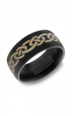 Torque Black Cobalt Wedding Band CBB-0010 product image