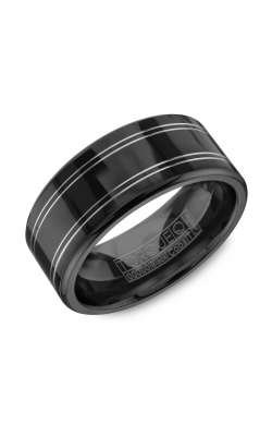 Torque Black Cobalt Wedding Band CBB-0012 product image