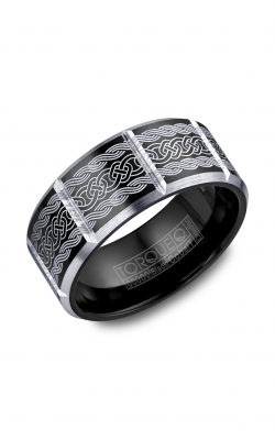 Torque Black Cobalt Wedding Band CBB-2051 product image