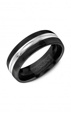 Torque Black Cobalt Wedding Band CBB-7008 product image