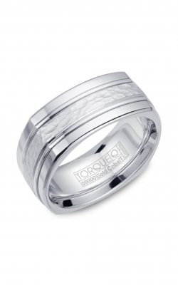 Torque Cobalt and Gold Wedding band CW060MW9 product image