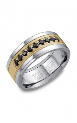 Torque Cobalt and Precious Metals Wedding band CW076MY9 product image