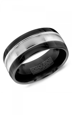 Torque Black Cobalt Wedding Band CBB-0001 product image
