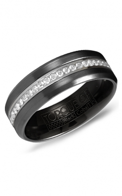 Torque Cobalt and Precious Metals Wedding band CB083SI75-10 product image