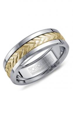 Torque Cobalt and Precious Metals Wedding band CW007MY75 product image
