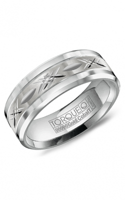 Torque Cobalt and Precious Metals Wedding band CW012MW75 product image