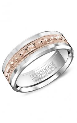 Torque Cobalt and Precious Metals Wedding band CW016MR75 product image