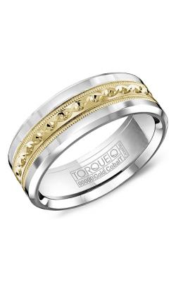 Torque Cobalt and Precious Metals Wedding band CW016MY75 product image