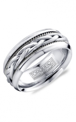 Torque Cobalt and Precious Metals Wedding band CW019MWW9 product image