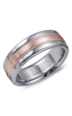 Torque Cobalt and Precious Metals Wedding band CW020MR75 product image