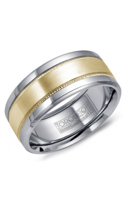 Torque Cobalt and Precious Metals Wedding band CW022MY9 product image