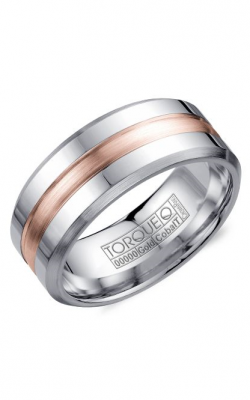 Torque Cobalt and Precious Metals Wedding band CW030MR9 product image