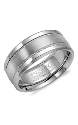 Torque Cobalt and Gold Wedding band CW036MW9 product image