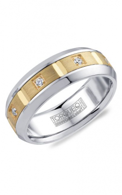 Torque Cobalt and Precious Metals Wedding band CW088MY75 product image
