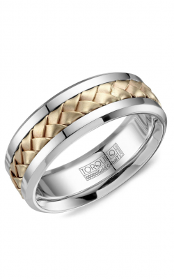 Torque Cobalt and Precious Metals Wedding band CW111MY75 product image