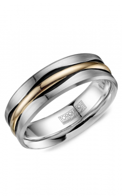 Torque Cobalt and Precious Metals Wedding band CW112MY75 product image