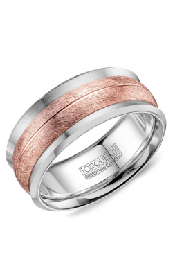 Torque Cobalt and Precious Metals Wedding band CW114MR9 product image