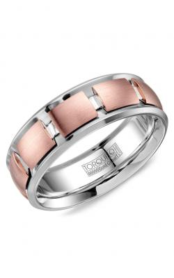 Torque Cobalt and Precious Metals Wedding band CW116MR75 product image