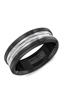 Torque Black Cobalt Wedding Band CB004MW75 product image