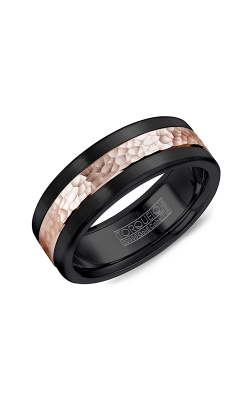 Torque Black Cobalt and Gold Wedding band CB005MR75 product image