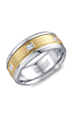 Torque Cobalt and Precious Metals Wedding band CW090MY9 product image