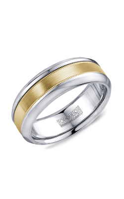 Torque Cobalt and Precious Metals Wedding band CW109MY75 product image