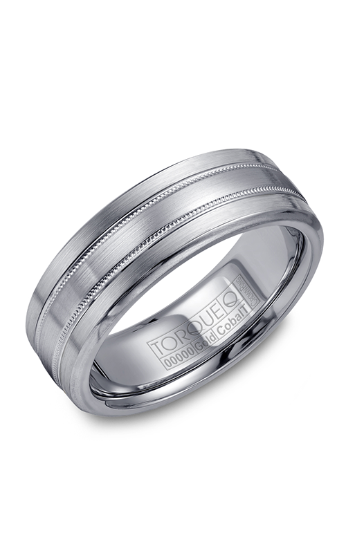 Torque Cobalt and Precious Metals Wedding band CW022MW75 product image