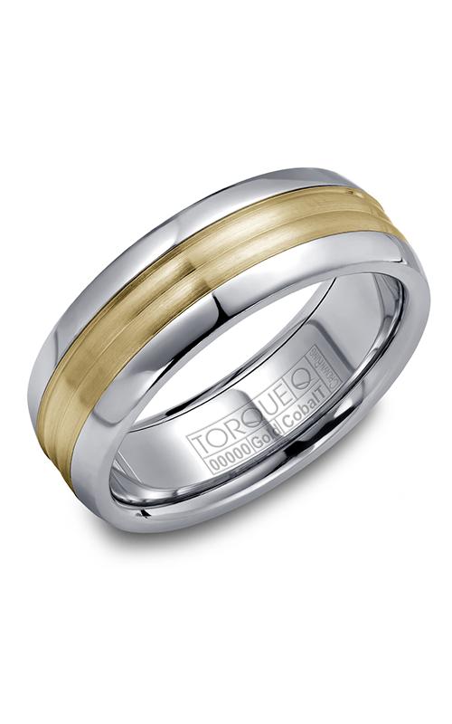 Torque Cobalt and Precious Metals Wedding band CW024MY75 product image
