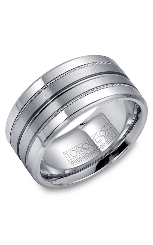 Torque Cobalt and Precious Metals Wedding band CW025MW105 product image