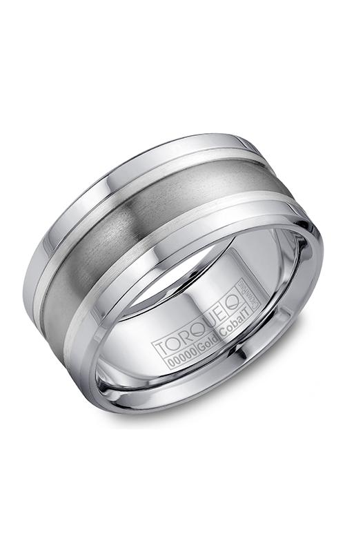 Torque Cobalt and Precious Metals Wedding band CW026ST105 product image