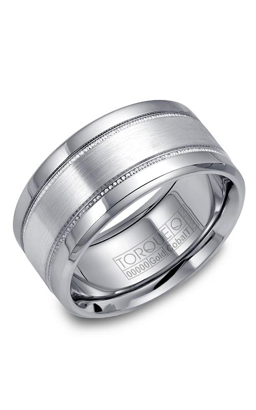 Torque Cobalt and Precious Metals Wedding band CW029MW105 product image