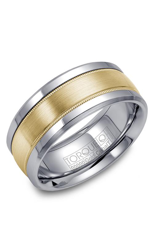 Torque Cobalt and Precious Metals Wedding band CW036MY9 product image
