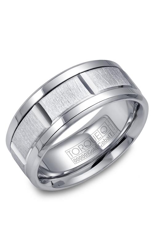 Torque Cobalt and Precious Metals Wedding band CW043MW9 product image