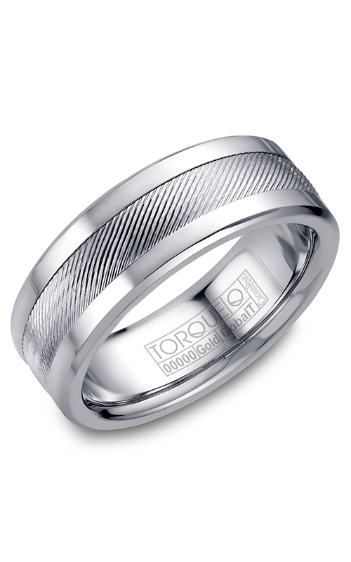 Torque Cobalt and Precious Metals Wedding band CW044MW75 product image