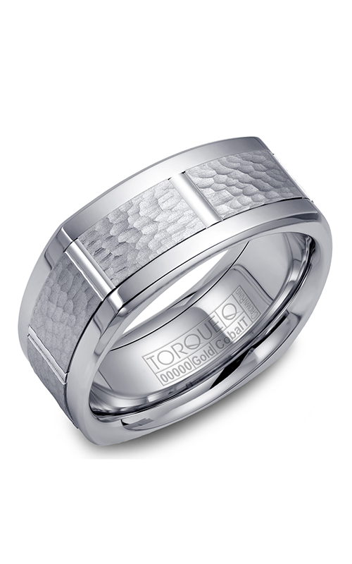 Torque Cobalt and Precious Metals Wedding band CW058MW9 product image