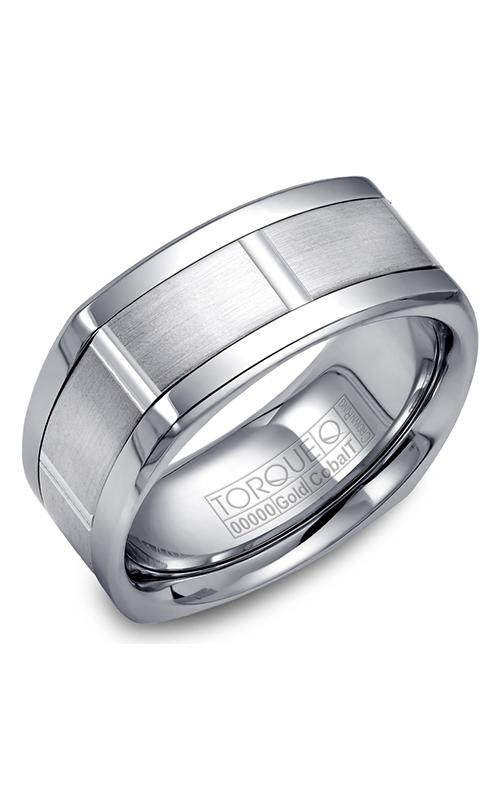 Torque Cobalt and Precious Metals Wedding band CW059MW9 product image